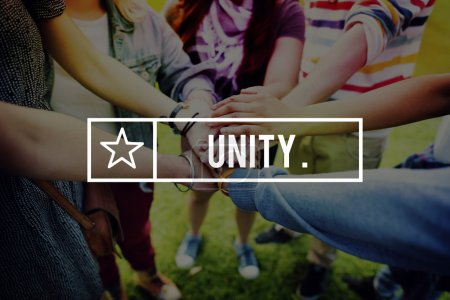 Unity Teamwork Concept