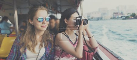 Girls photographers Traveling