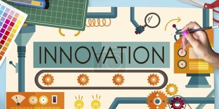 Innovation, Ideas Concept