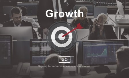 business people working and growth
