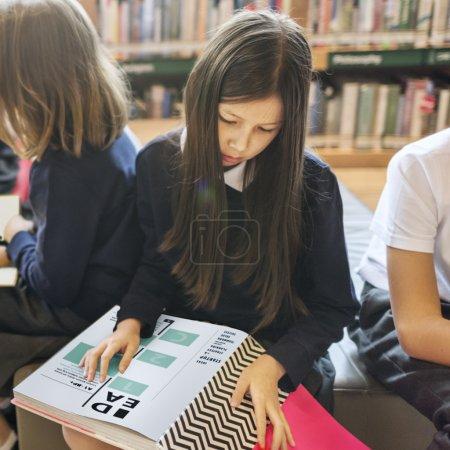 pupils having lesson at school classroom