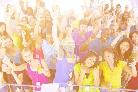 cheerful Diversity People