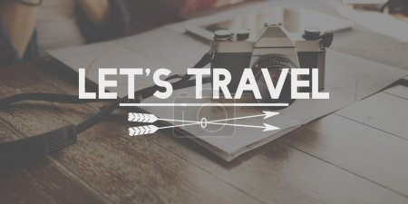 Traveling Destination Concept