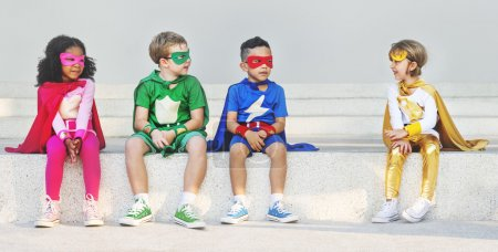 Superhero Kids  Concept
