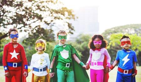 Superhero Kids  Concept