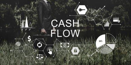 Cash Flow Finance Economy Concept