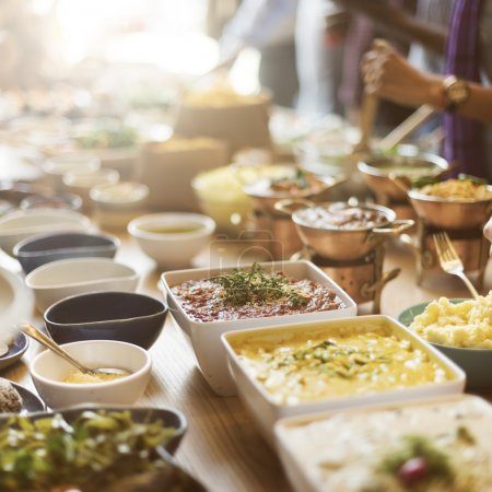 Buffet Catering Concept
