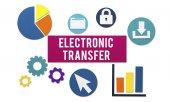 Šablona s konceptem elektronického převodu