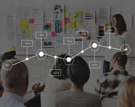 Business Team at seminar Concept
