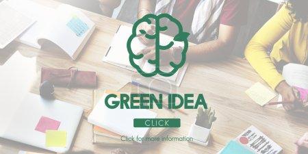 Green Idea Nature Concept