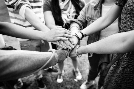 Hands Assemble Teamwork