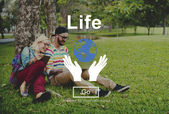 Rovnováha mezi životem je narození