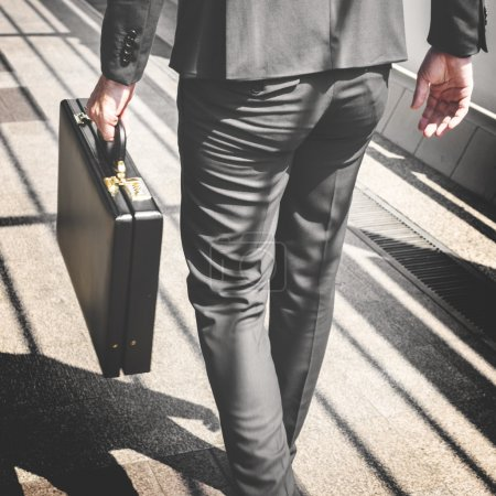 Businessman going to Office