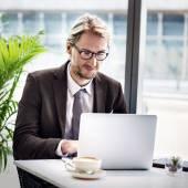 Podnikatel, práce s počítačem