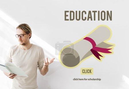 Graduation Course, Education Concept