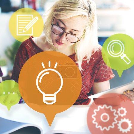 Ideas Lightbulb Innovation