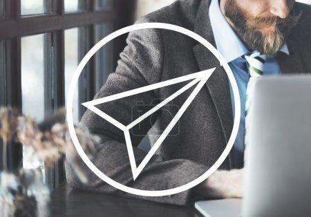 businessman in Startup Concept