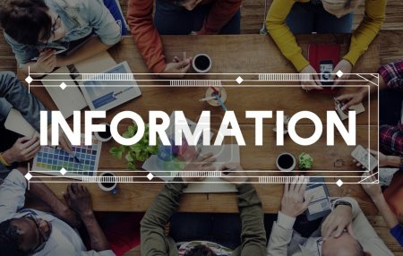 Information, Data Research Concept