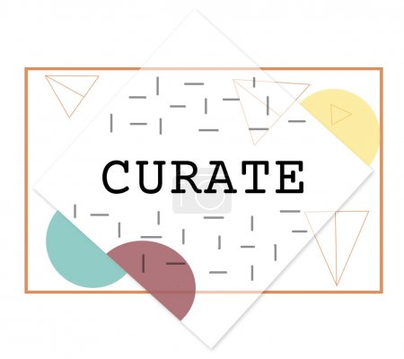 template with curate concept