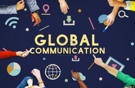 Technology, Global Communication Concept