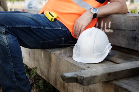 Engineer Worker With helmet