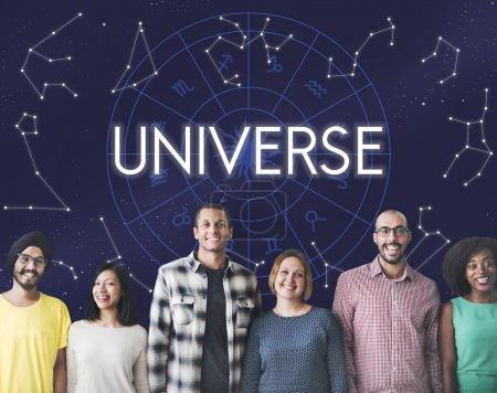 diversity people with universe