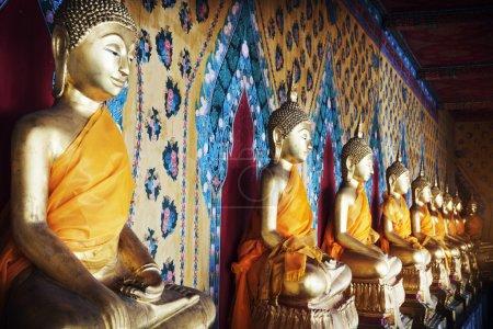 ancient Buddha Statues