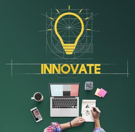 Creative Imagination Concept