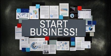 Start Business Startup Concept