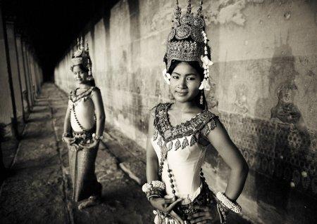 Cambodian Dancers, Siem Reap