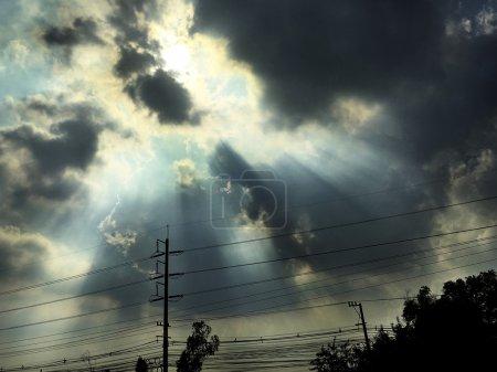 Dramatic Sky Thunder Concept