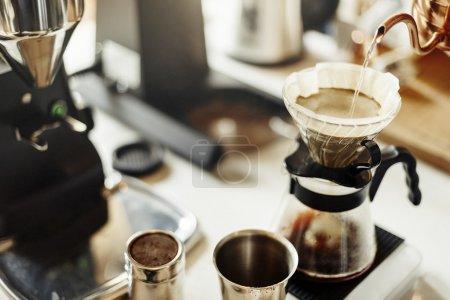 Coffee Shop Cafeteria  Concept