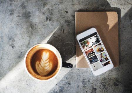 Coffee Break Time Concept