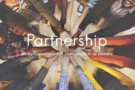 Diversity People Holding Hands Together.