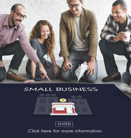 designers working with small business