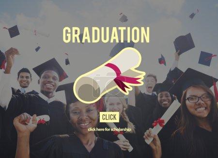 Group of Students Celebrating Graduation