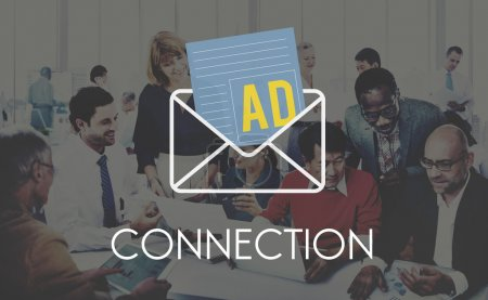 Business People and Connection Concept