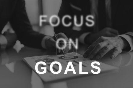 focus on goals text