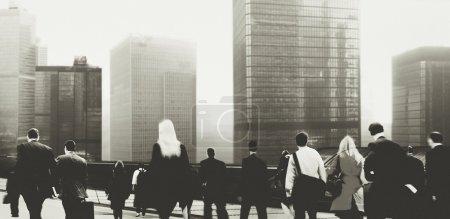 Business People Walking in City