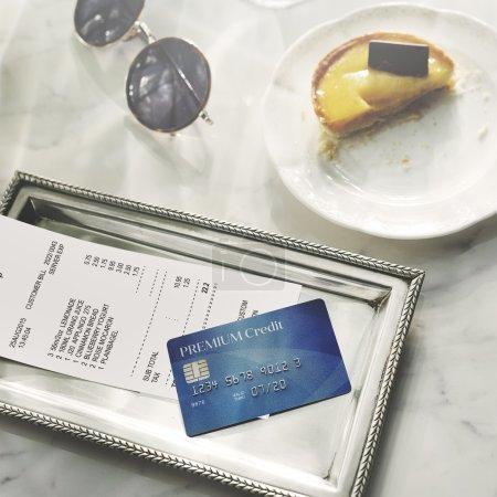 Credit Debit Card Concept