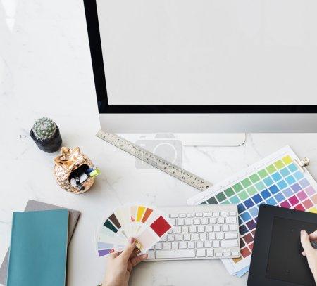 Designer Interior Working  Concept