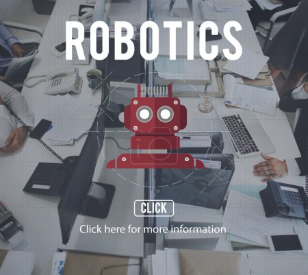 People in time works with Robotics