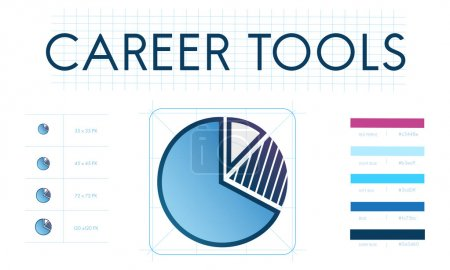 creative banner with text Career Tools