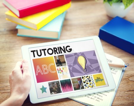 Digital Tablet with Tutoring Concept