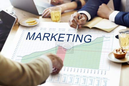 Business People and Marketing concept
