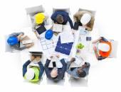 Engineers planning in Meeting