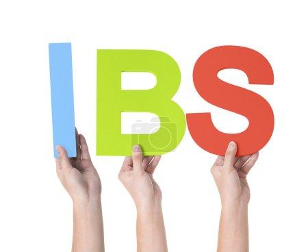 Multiethnic Hands Holding IBS