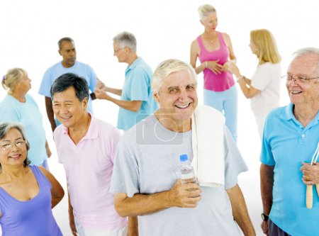 Senior Adult in Fitness