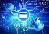 Podvody online koncept