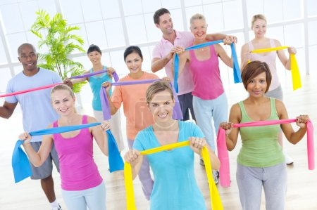 Healthy People in Fitness